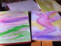 paintings in progress 1