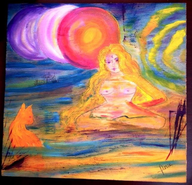 goddess 3 suns